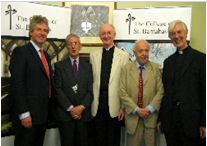 Lord Pilkington (second from right) at the 2009 reception